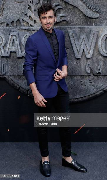 Actor Canco Rodriguez attends the 'Jurassic World Fallen Kingdom' premiere at Wizink Center on May 21 2018 in Madrid Spain