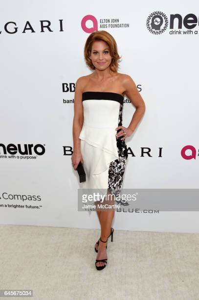 Actor Candace Cameron Bure attends the 25th Annual Elton John AIDS Foundation's Academy Awards Viewing Party at The City of West Hollywood Park on...