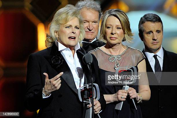 Actor Candice Bergen and 'Murphy Brown' creator/executive producer Diane English speak onstage at the 10th Annual TV Land Awards at the Lexington...