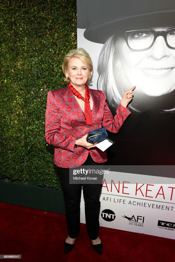 Actor Candice Bergen arrives at the American Film Institute's 45th Life Achievement Award Gala Tribute to Diane Keaton at Dolby Theatre on June 8, 2017 in Hollywood, California.