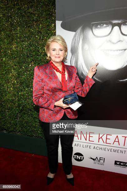 Actor Candice Bergen arrives at the American Film Institute's 45th Life Achievement Award Gala Tribute to Diane Keaton at Dolby Theatre on June 8...