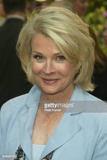Actor Candice Bergen attends the ABC upfront at Lincoln Center on May 17, 2005 in New York City.