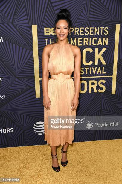 Actor Candice Patton attends BET Presents the American Black Film Festival Honors on February 17 2017 in Beverly Hills California