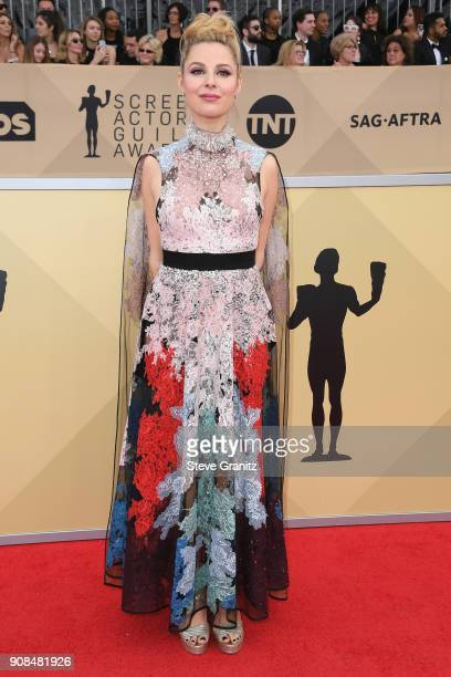 Actor Cara Buono attends the 24th Annual Screen Actors Guild Awards at The Shrine Auditorium on January 21 2018 in Los Angeles California