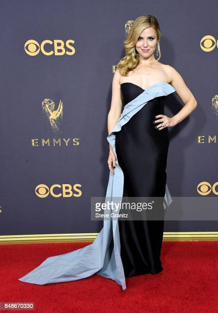 Actor Cara Buono attends the 69th Annual Primetime Emmy Awards at Microsoft Theater on September 17 2017 in Los Angeles California