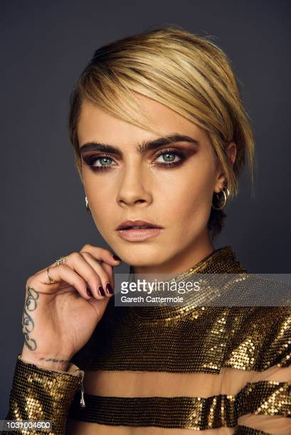 Actor Cara Delevingne from the film 'Her Smell' poses for a portrait during the 2018 Toronto International Film Festival at Intercontinental Hotel on...