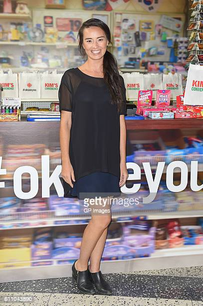 Actor Cara Gee attends the CBC World Premiere VIP Screening Of Kim's Convenience at CBC Building on September 28 2016 in Toronto Canada