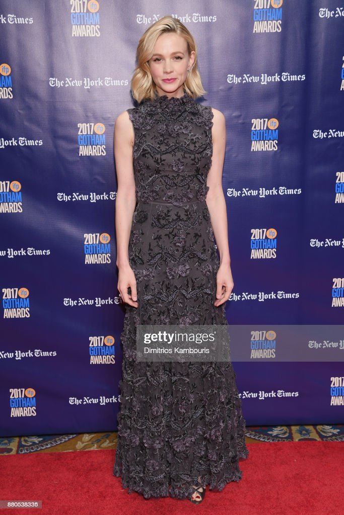 Actor Carey Mulligan attends IFP's 27th Annual Gotham Independent Film Awards on November 27, 2017 in New York City.