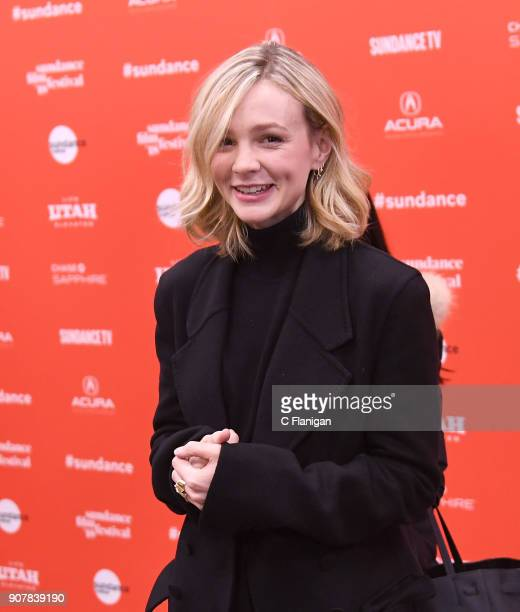 Actor Carey Mulligan attends the 'Wildlife' Premiere during the 2018 Sundance Film Festival at Eccles Center Theatre on January 20 2018 in Park City...