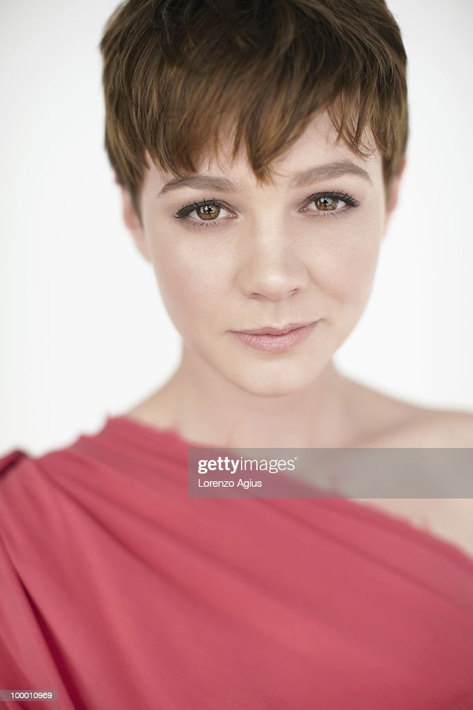 Actor Carey Mulligan poses for a portrait shoot in London on February 3, 2010.