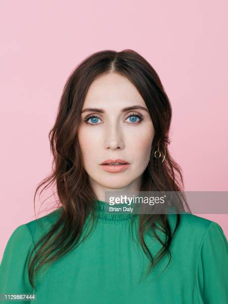 Actor Carice Van Houten is photographed for the Telegraph on May 17 2017 in London England