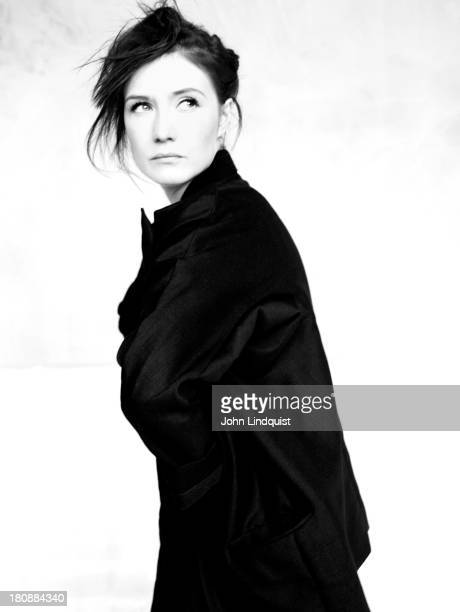 Actor Carice Van Houten is photographed for Wonderland magazine on November 3 2008 in London England