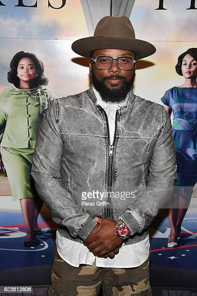 Actor Carl Payne attends Hidden Figures advanced screening hosted by Janelle Monae Pharrell Williams at Regal Cinemas Atlantic Station Stadium 16 on...