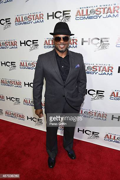 Actor Carl Payne attends the HCE Live presents Shaquille O'Neal All Star Comedy Jam at Cobb Energy Center on October 10 2014 in Atlanta Georgia