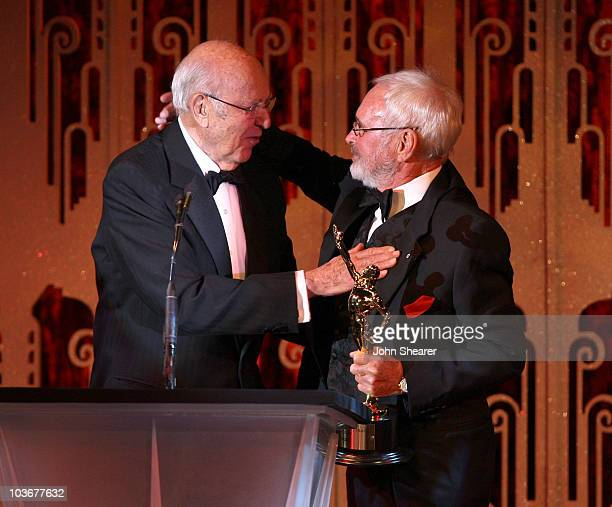 Actor Carl Reiner and editor Norman Jewison at the 58th Annual ACE Eddie Awards at the Beverly Hilton Hotel on February 17, 2008 in Beverly Hills,...
