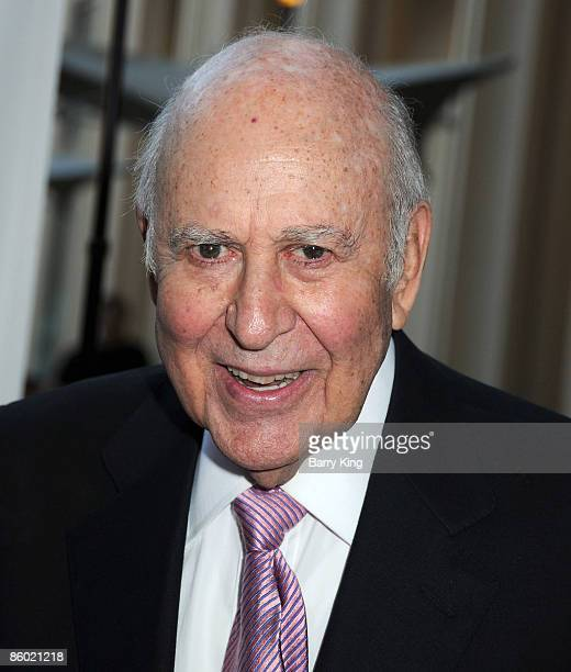 """Actor Carl Reiner arrives at Film Independent's """"Tribute to Norman Jewison"""" held at Los Angeles County Museum of Art on April 17, 2009 in Los..."""