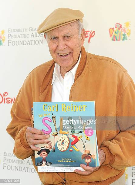Actor Carl Reiner arrives at the 21st A Time For Heroes Celebrity Picnic sponsored by Disney to benefit the Elizabeth Glaser Pediatric Aids...