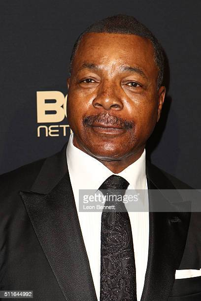 Actor Carl Weathers arrived to the 2016 American Black Film Festival Awards Gala Arrivals at The Beverly Hilton Hotel on February 21 2016 in Beverly...