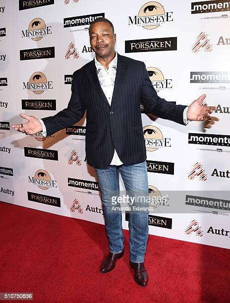 Actor Carl Weathers arrives at a screening for Momentum Pictures' 'Forsaken' at the Autry Museum of the American West on February 16 2016 in Los...