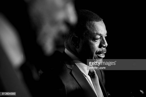 Actor Carl Weathers arrives at ICON MANN's 4th Annual Power 50 Dinner at Mr C Beverly Hills on February 26 2016 in Beverly Hills California