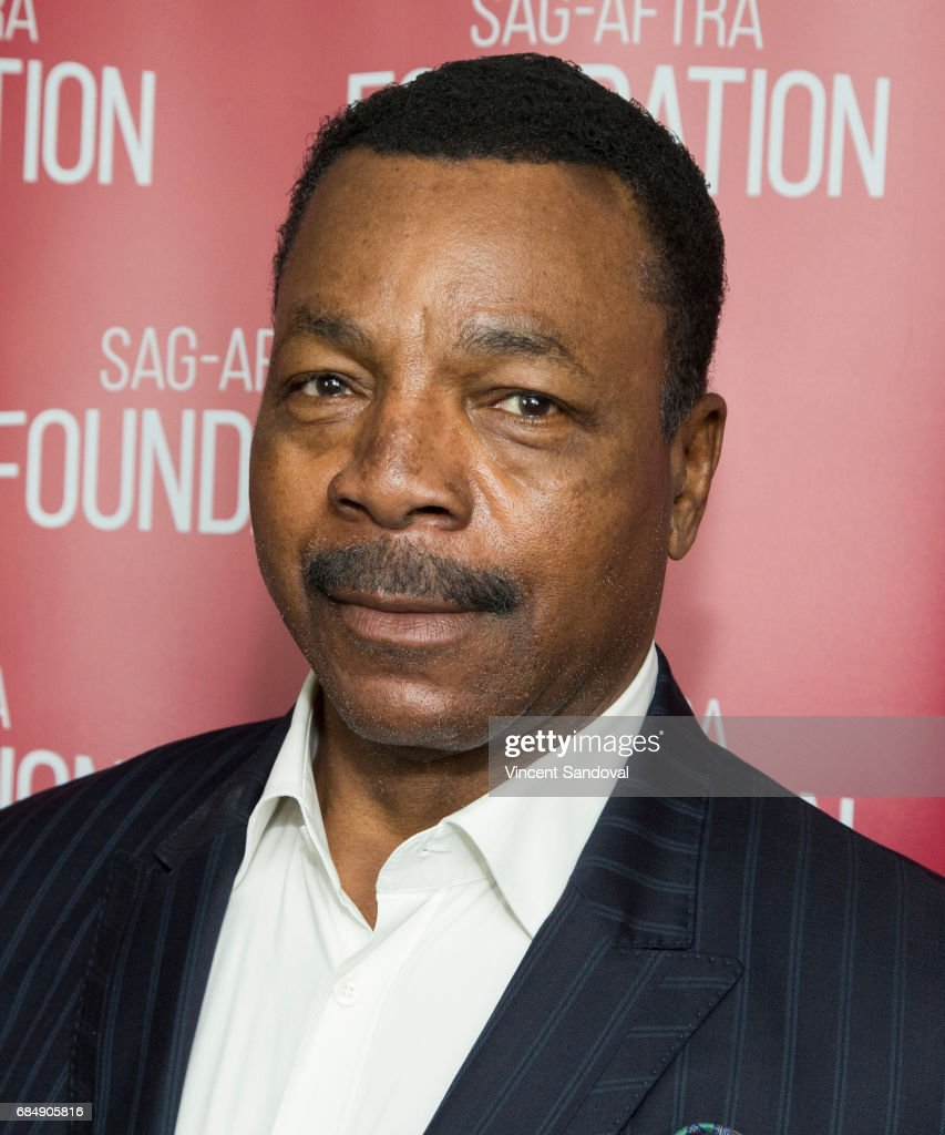 Actor Carl Weathers attends a career retrospective for SAG-AFTRA Foundation Conversations at SAG-AFTRA Foundation Screening Room on May 18, 2017 in Los Angeles, California.