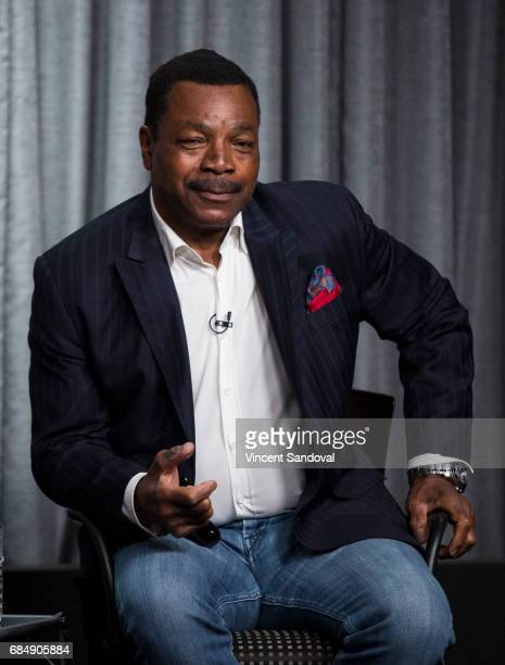 Actor Carl Weathers attends a career retrospective for SAGAFTRA Foundation Conversations at SAGAFTRA Foundation Screening Room on May 18 2017 in Los...