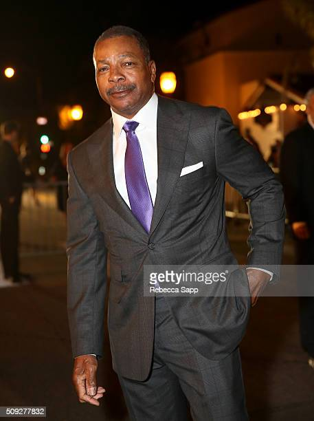 Actor Carl Weathers attends the Montecito Award at the Arlington Theater at the 31st Santa Barbara International Film Festival on February 9 2016 in...