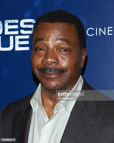Actor Carl Weathers attends the season 2 premiere of 'Shades Of Blue' hosted by NBC and The Cinema Society at The Roxy on March 1 2017 in New York...