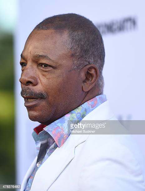 Actor Carl Weathers attends the world premiere of UNITY at the DGA Theater on June 24 2015 in Los Angeles California