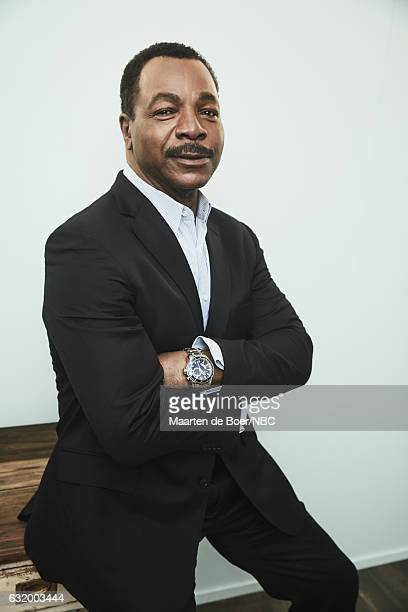 Actor Carl Weathers of 'Chicago Justice' poses for a portrait in the NBCUniversal Press Tour portrait studio at The Langham Huntington Pasadena on...