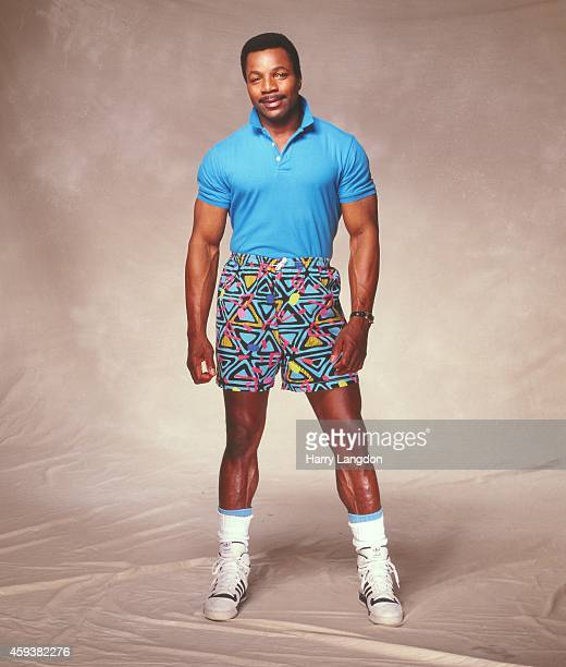 Actor Carl Weathers poses for a portrait in 1987 in Los Angeles California