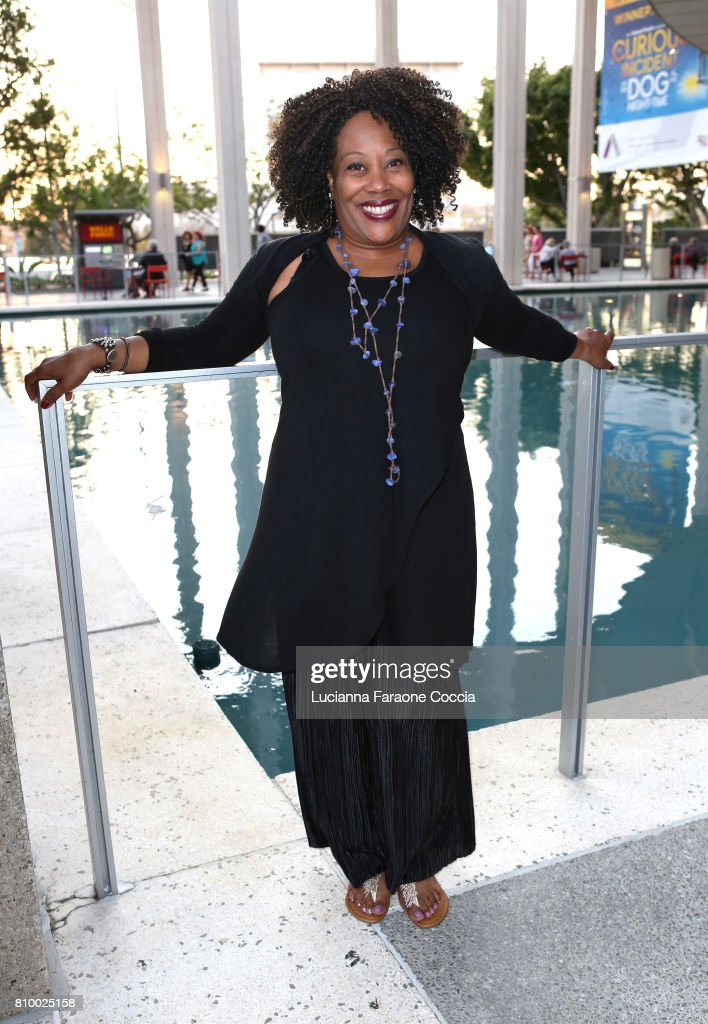 Actor Carla Renata attends the Opening Night of 'Heisenberg' at Mark Taper Forum on July 6, 2017 in Los Angeles, California.
