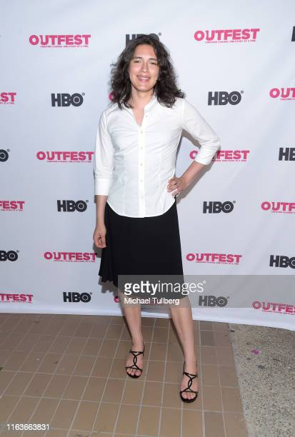Actor Carlie Guevara attends a screening of The Garden Left Behind at the 2019 Outfest Los Angeles LGBTQ Film Festival at Margo Albert Theatre on...