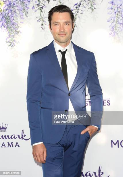 Actor Carlo Marks attends the 2018 Hallmark Channel Summer TCA at Private Residence on July 26 2018 in Beverly Hills California