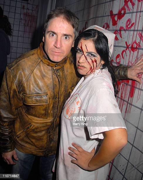 Actor Carlos Alazraqui visits Knott's Scary Farm's 35th Annual Halloween Haunt held at Knotts Berry Farm on October 17 2007 in Buena Park California