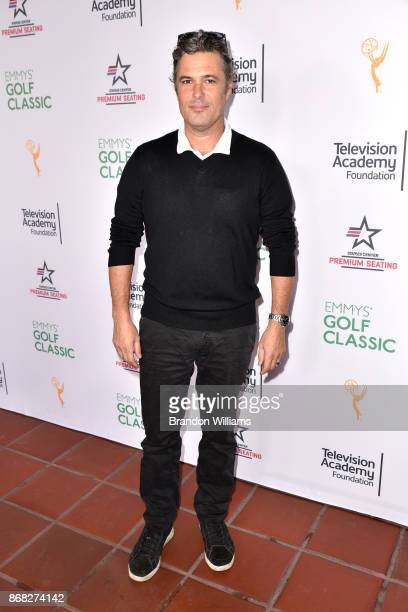 Actor Carlos Bernard attends the 18th Annual Emmys Golf Classic at Wilshire Country Club on October 30 2017 in Los Angeles California
