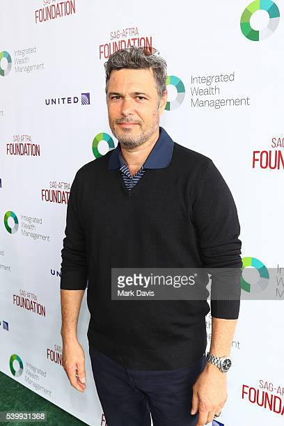 Actor Carlos Bernard attends the SAGAFTRA Foundation 7th Annual LA Golf Classic Fundraiser on June 13 2016 in Los Angeles California