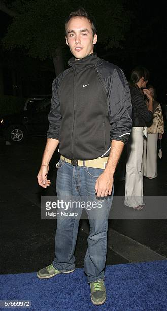 "Actor Carlos East attends the ""Poseidon"" screenng VIP Gala on May 8, 2006 in Miami, Florida."