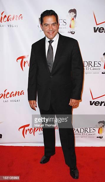 Actor Carlos Gomez attends the PADRES Contra El Cancer 2012 El Sueno De ESPERANZA gala at The Tropicana on September 29 2012 in Las Vegas Nevada