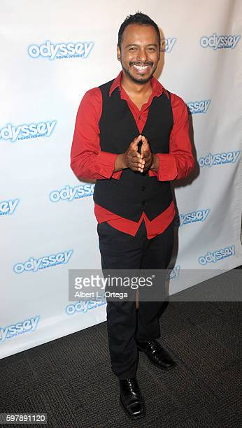 Actor Carlos Moreno Jr arrives for the Reading Of 'The Blade Of Jealousy/La Celsa De Misma' held at The Odyssey Theatre on August 29 2016 in Los...