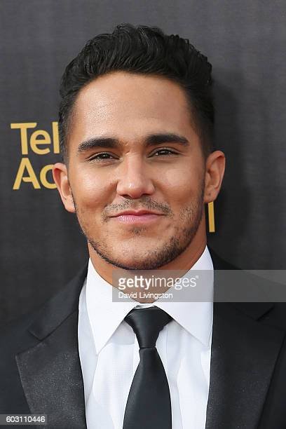 Actor Carlos Pena Jr attends the 2016 Creative Arts Emmy Awards Day 2 at the Microsoft Theater on September 11 2016 in Los Angeles California