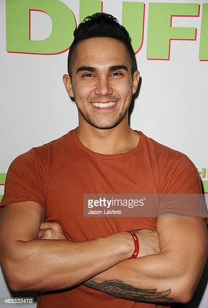 Actor Carlos Pena Jr attends the premiere of The Duff at TCL Chinese 6 Theatres on February 12 2015 in Hollywood California