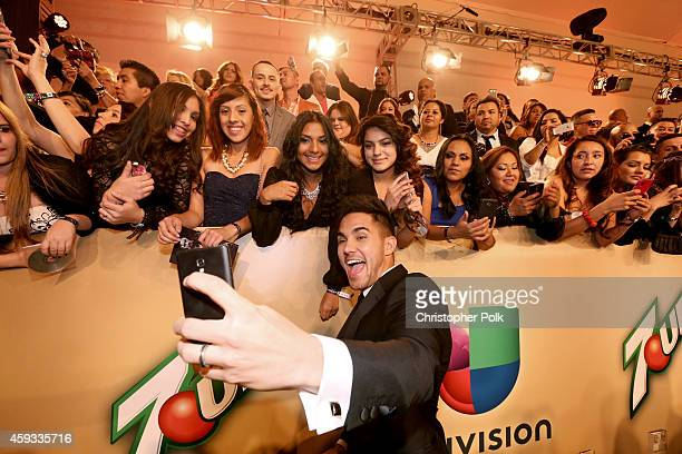 Actor Carlos PenaVega attends the 15th Annual Latin GRAMMY Awards at the MGM Grand Garden Arena on November 20, 2014 in Las Vegas, Nevada.