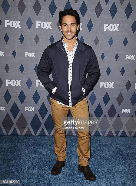 Actor Carlos PenaVega attends the FOX winter TCA 2016 AllStar party at The Langham Huntington Hotel and Spa on January 15 2016 in Pasadena California