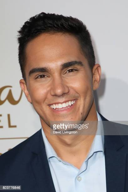 Actor Carlos PenaVega attends the Hallmark Channel and Hallmark Movies and Mysteries 2017 Summer TCA Tour on July 27 2017 in Beverly Hills California