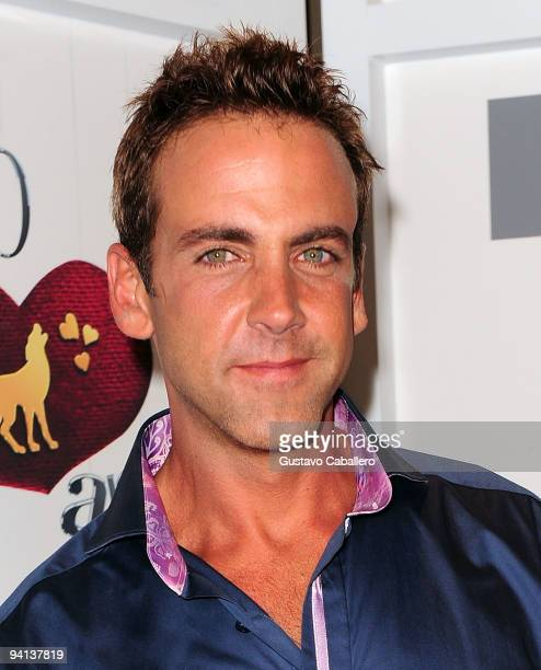 Actor Carlos Ponce attends Telemundo's Perro Amor launch party at W Hotel on December 7 2009 in Miami Beach Florida
