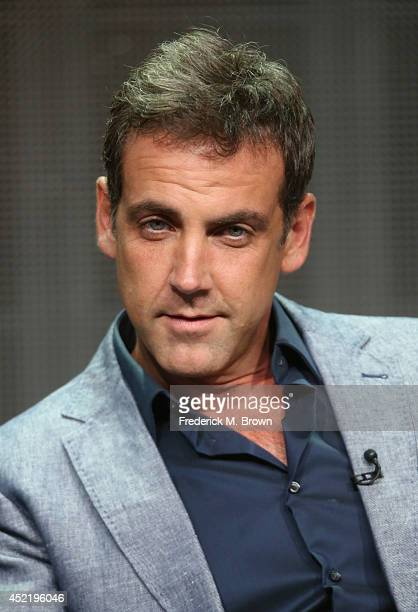 Actor Carlos Ponce speaks onstage at the 'Cristela' panel during the Disney/ABC Television Group portion of the 2014 Summer Television Critics...
