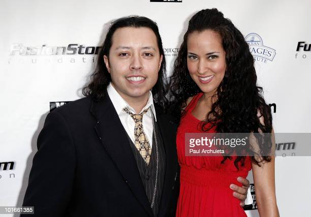 Actor Carlos R Ramirez and girlfriend Melissa Rivos arrive at the 1st annual My Ocean Planet fundraiser benefitting project Kaisei at The Malibu...