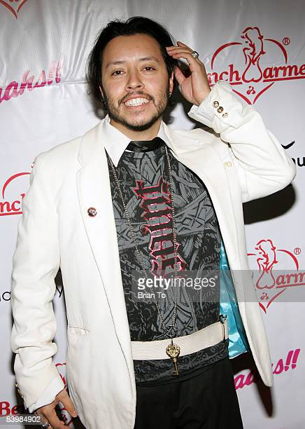 Actor Carlos Ramirez arrives at the 3rd Annual 'Bench Warmer Trading Cards' Holiday Party and Toy Drive at The Kress on December 9 2008 in Hollywood...