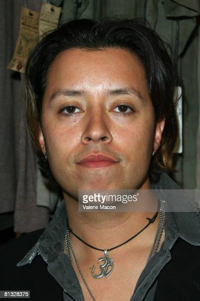 Actor Carlos Ramirez attends The Grand Opening of Pupe At New York New York on June 1 2008 in Los Angeles California